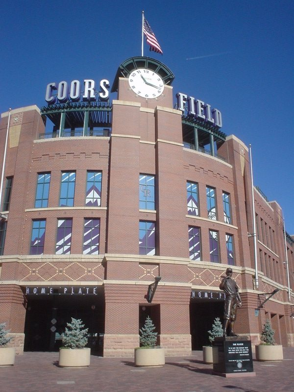 5. ...until their new home (Coors Field) opens for business in 1995.