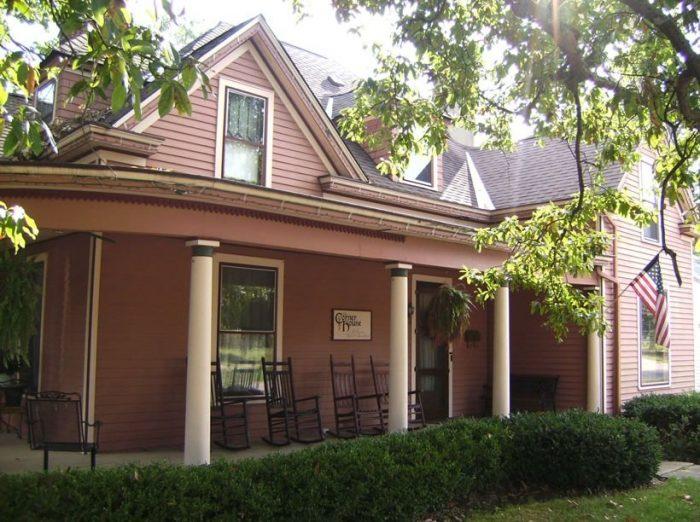 12. Corner House B&B at 228 Richmond Avenue in Nicholasville