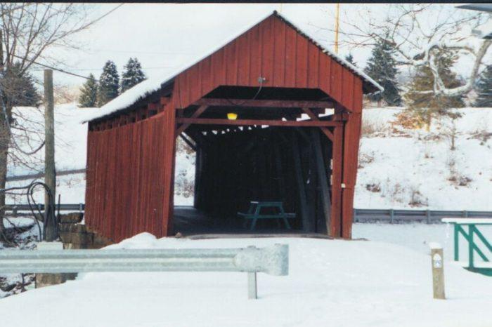 8. Simpson Creek Covered Bridge, Harrison County
