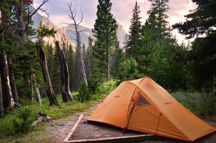 2. Camping.