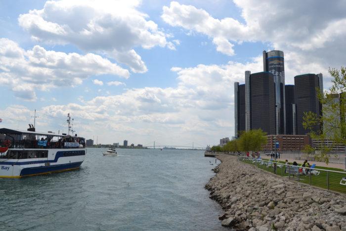 1. Detroit Riverwalk