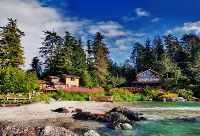 6. Fun, fishing and fine dining on a private island at Talon Lodge & Spa.