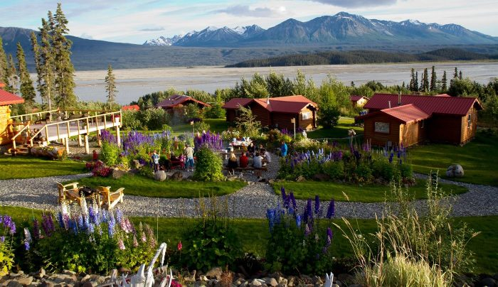 4. Wrangell-St. Elias National Park and Ultima Thule Lodge.