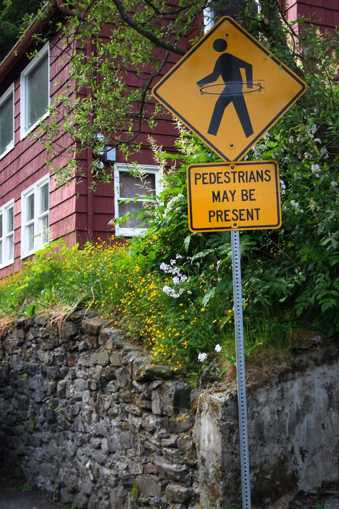 11. Pedestrians may be present and hiding in the bushes with hula hoops. Watch out!