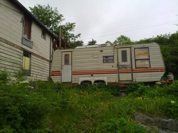 4. In Anchorage it is illegal for a person to ride or live in a trailer as it is being hauled across the city.
