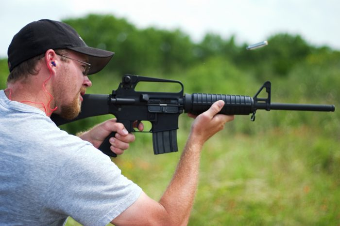 Lenient gun laws.
