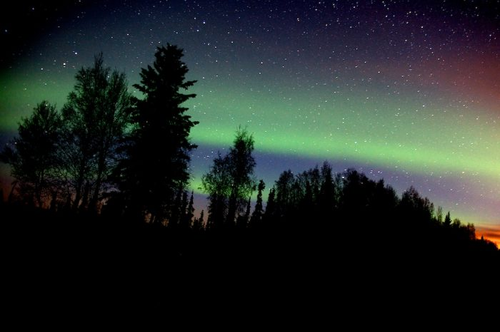 7. What time should I plan for the Northern Lights come out?