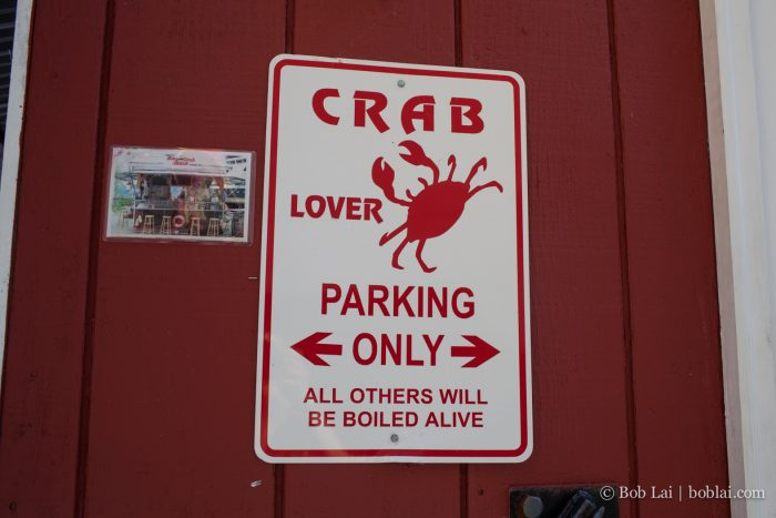 3. We are very crabby about those who don't love crab. Like, VERY crabby.