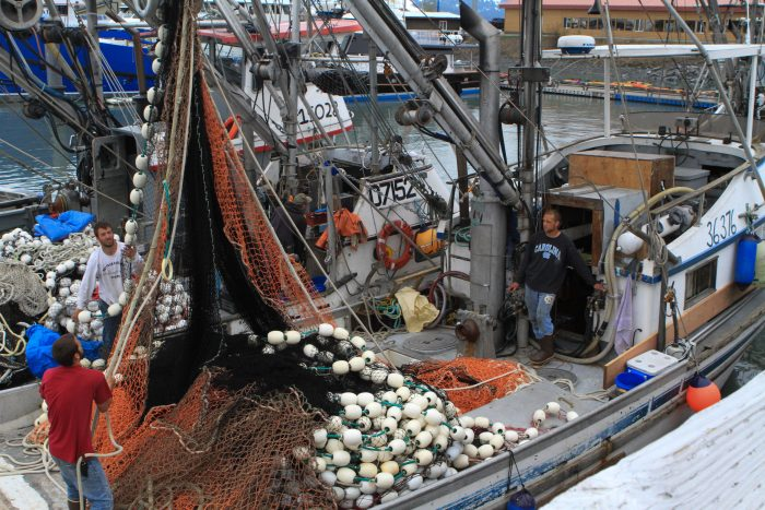 Seafood industry domination.
