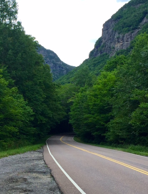 Smugglers' Notch is a mountain pass in Lamoille County.