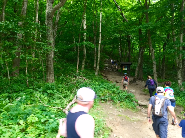 Hikers love the many trails throughout...