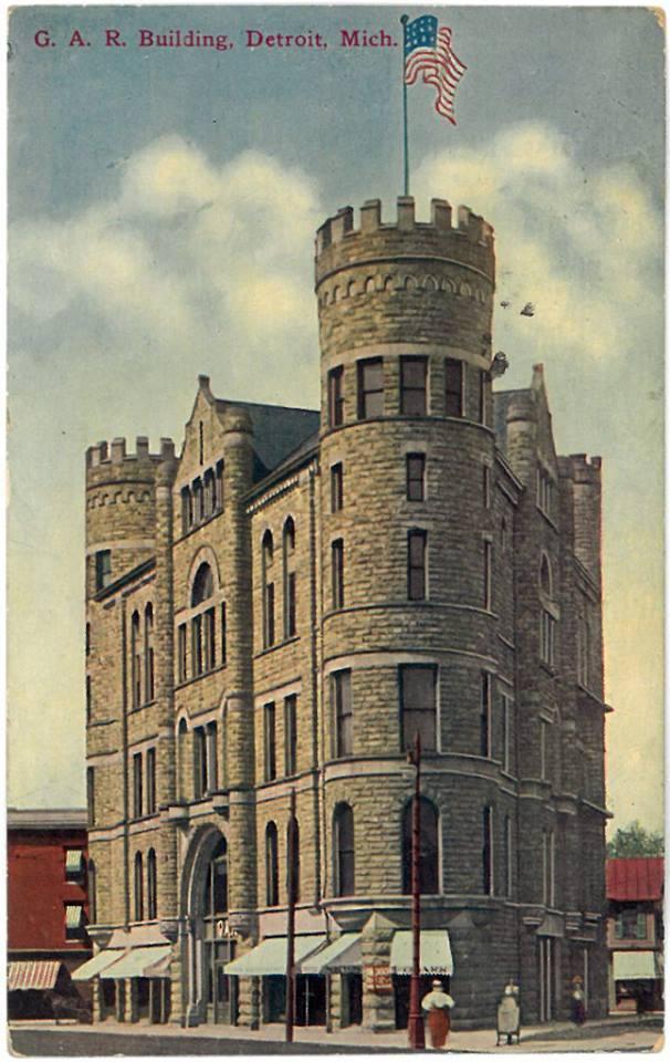9. GAR Building, Detroit