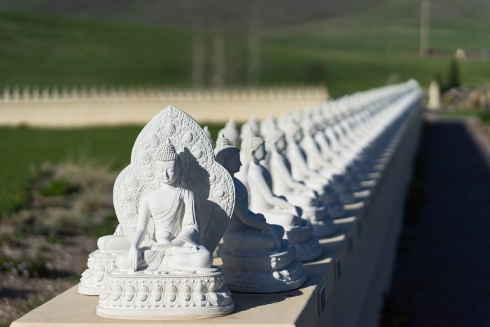 12 mysterious and unusual spots in montana Garden of one thousand buddhas