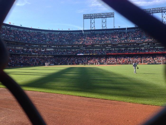 2. Watch the Giants play at AT&T Park (just 3 innings, that is).