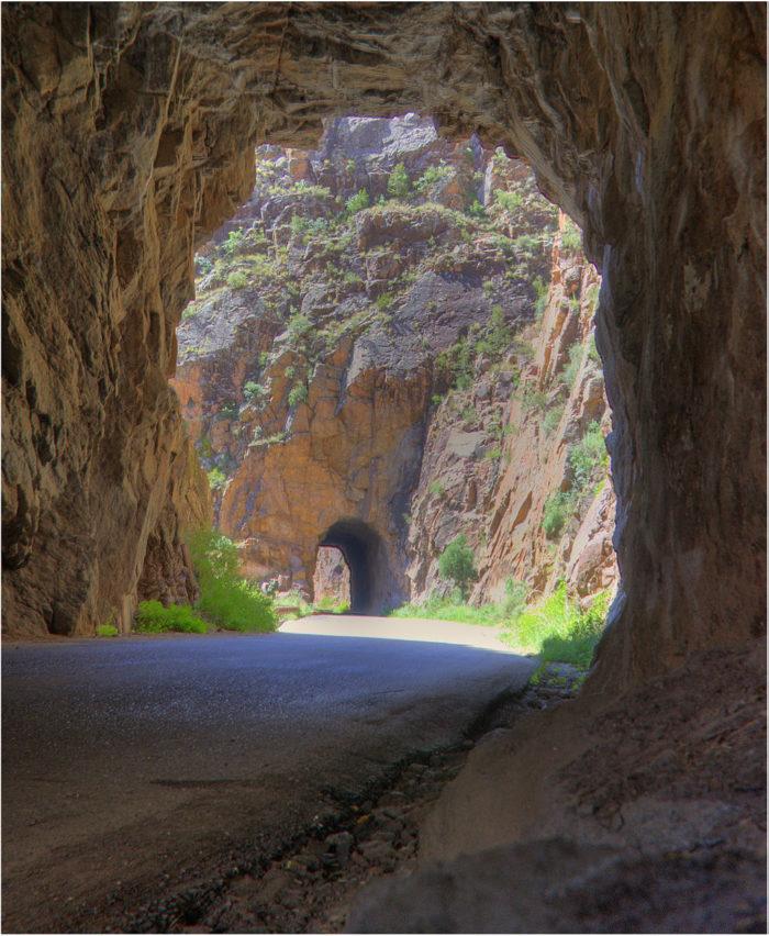 Jemez Springs Tunnels