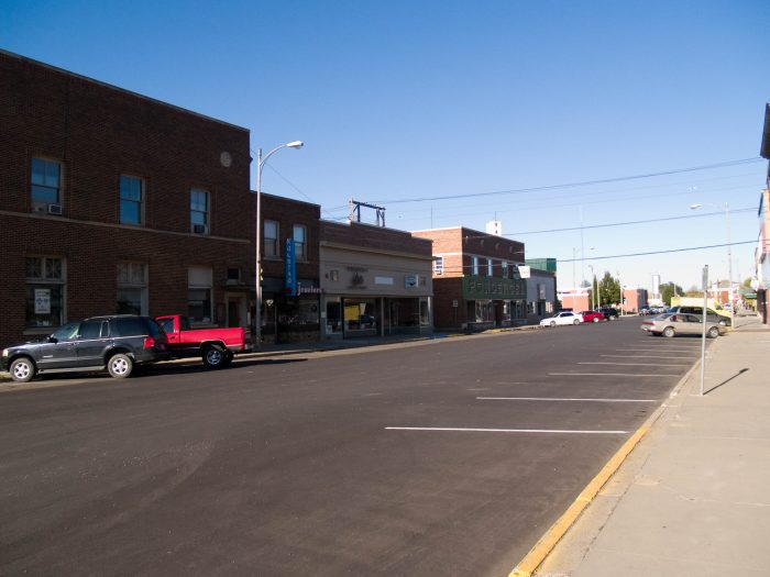 9. Small towns.
