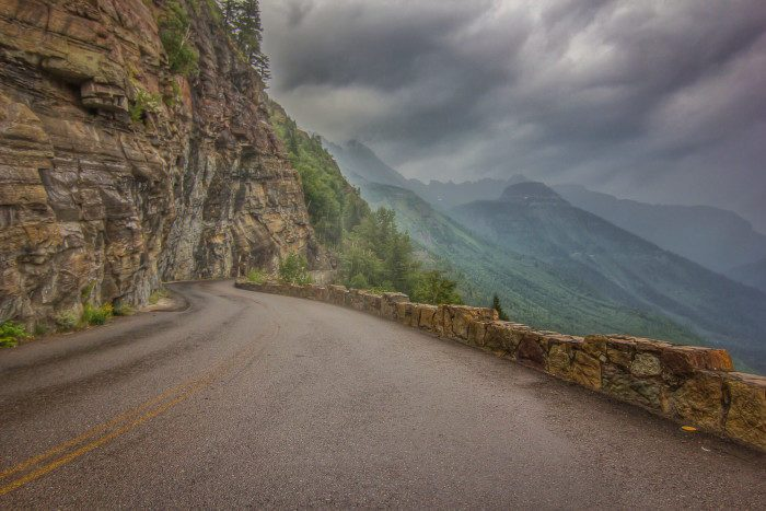 10. Going-to-the-Sun Road, Montana