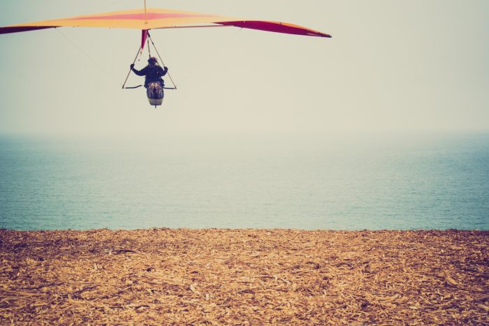 10. Fly over the city with Big Air Hang Gliding.
