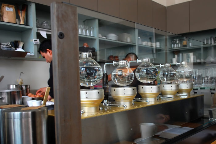 7. Like the techies or not, San Francisco has always been a hub for world-changing innovation, from Levi's Jeans to Airbnb to these fancy brewing pots at Blue Bottle.