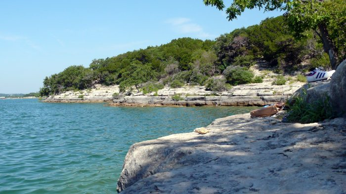 2. Take a dip in the refreshing water at Hippie Hollow.