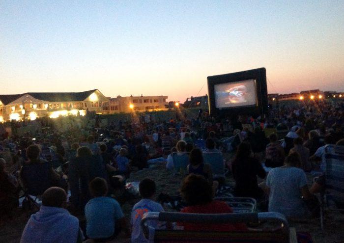 5. Watch a movie on Bethany Beach