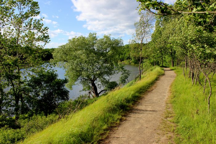 7. The majority of the trails will bring you right along the water. Does it get any better than this?