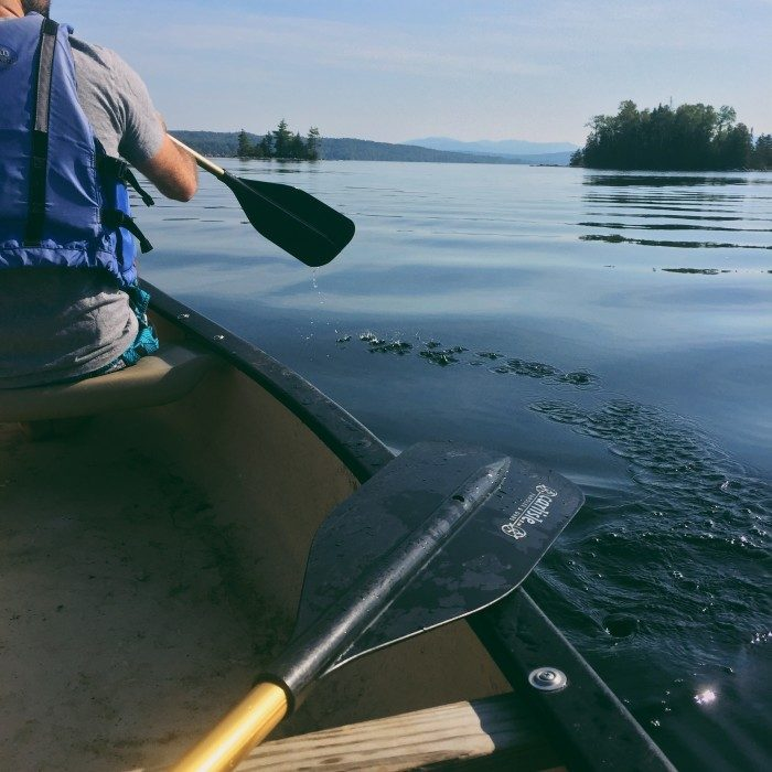 1. A two-person kayak trip on any of Maine's gorgeous lakes.