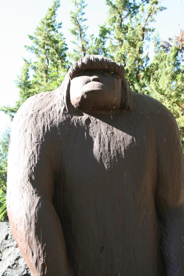 7. Harass Bigfoot.