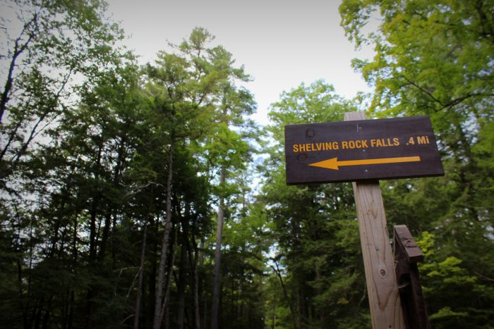 Located in the remote town of Fort Ann, you can find this easy hike down off of the popular Buttermilk Falls Road.