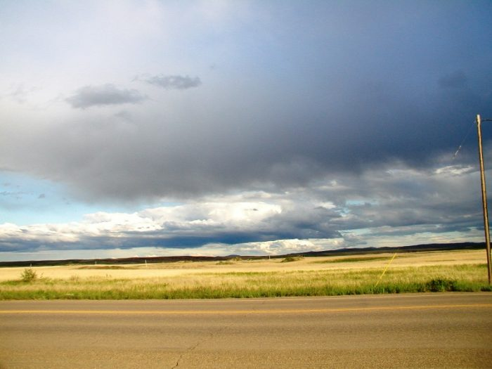 4.  Cruise down Montana State Highway 234 in the north central part of the state.