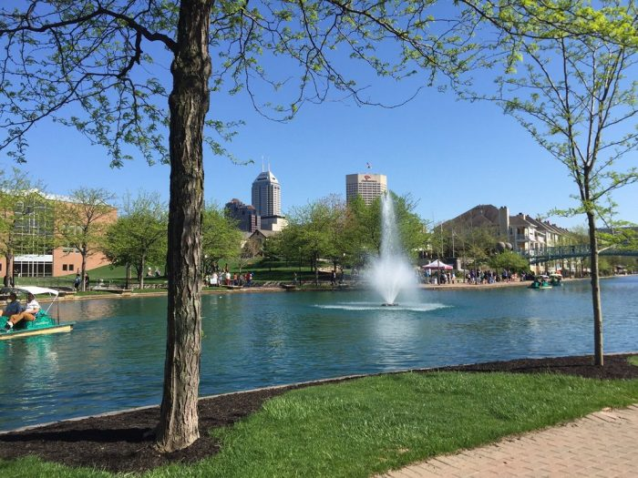 1. Indianapolis Canal Walk - Indianapolis