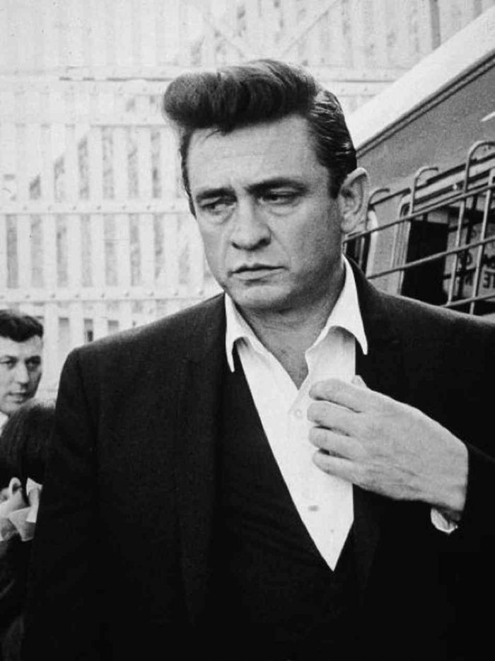 13.  We produced Johnny Cash . . .