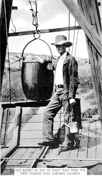 7. Before 1925, guests who visited the park were lowered into the caves in a big bucket. Makes you grateful for the elevator, doesn't it?