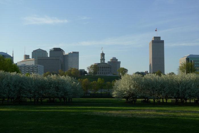Downtown Nashville from Bicentennial Park