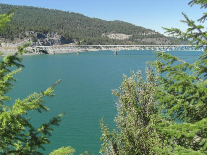 8.  Lake Koocanusa Scenic Byway