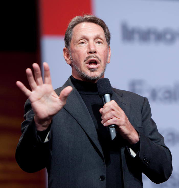1. Larry Ellison: Co-Founder and CEO of Oracle