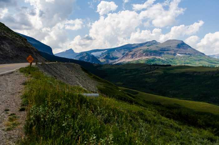8. Enjoy the views from Looking Glass Hill Road at Glacier National Park.