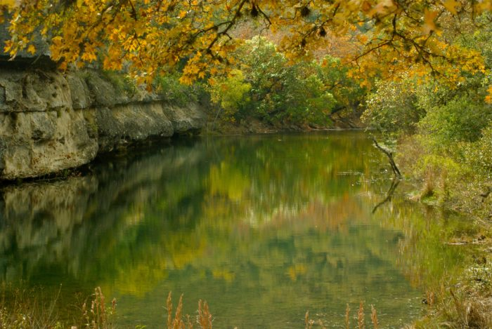 5. Lost Maples State Natural Area in Vanderpool, Texas
