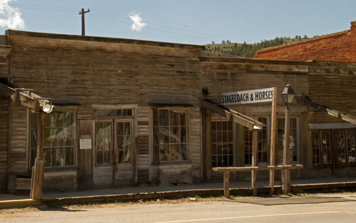5. Virginia City was our original state capital. In 1875, the capital city was moved to Helena.