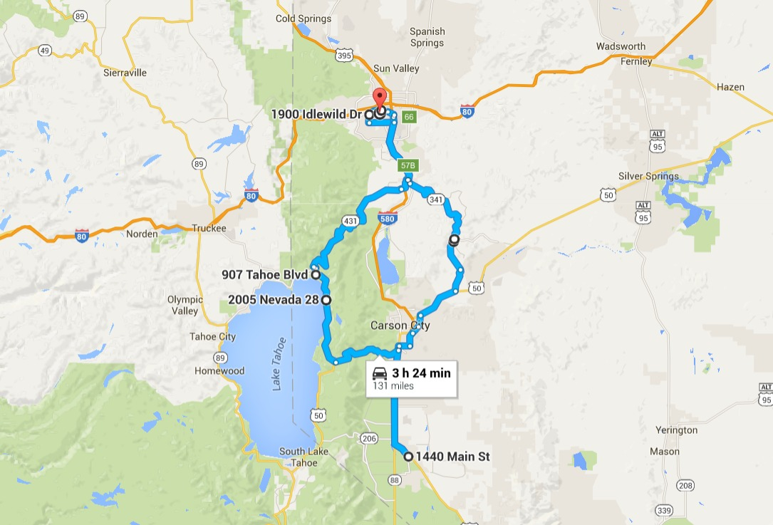 Gas Prices In Chicago >> This Amazing Nevada Road Trip Only Takes One Tank Of Gas