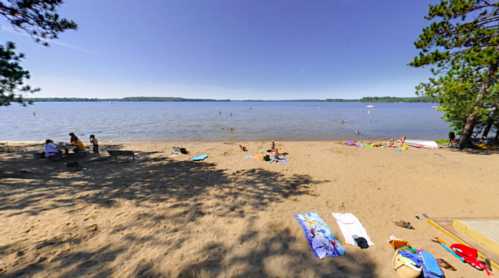 Head north to Sturgeon Lake and spend the day at McCarthy Beach State Park. Here you will find an abundance of campgrounds and outdoor activities to entertain you all day, or even overnight!