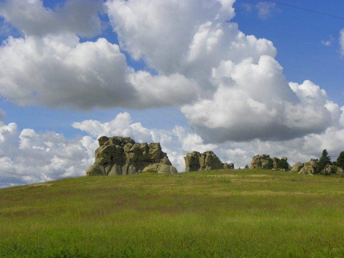 10. Montana: Medicine Rocks State Park