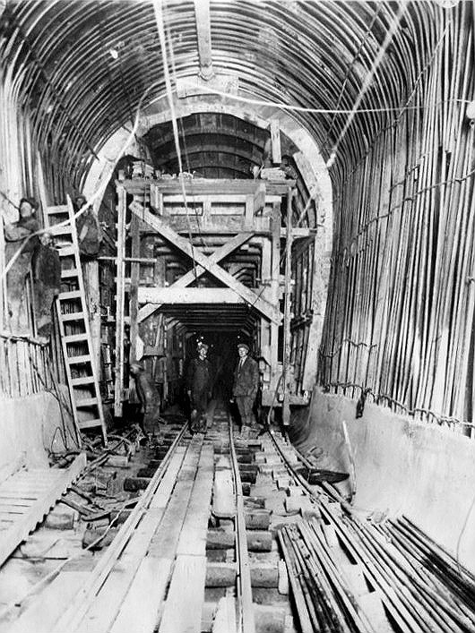 Though the original idea and plans for the Moffat Tunnel came about in 1902, it took almost another 30 years to complete due to disagreements within in the state legislature.