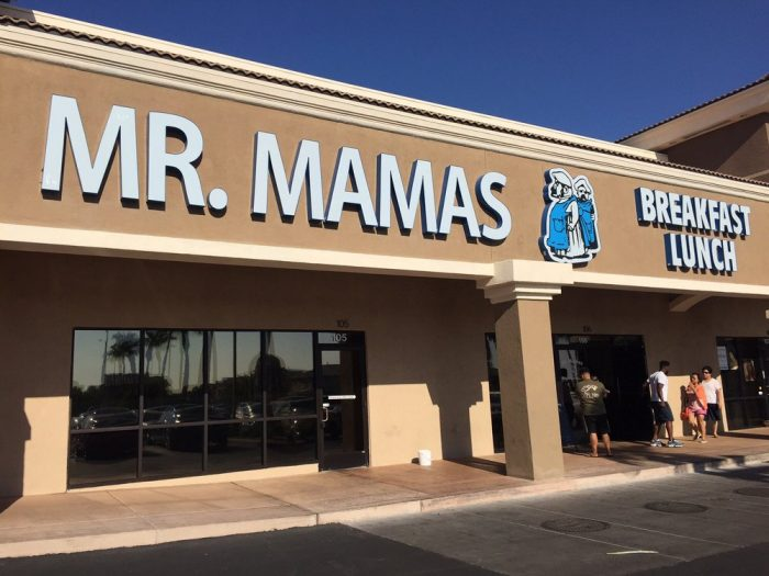 1. Mr. Mamas - Las Vegas