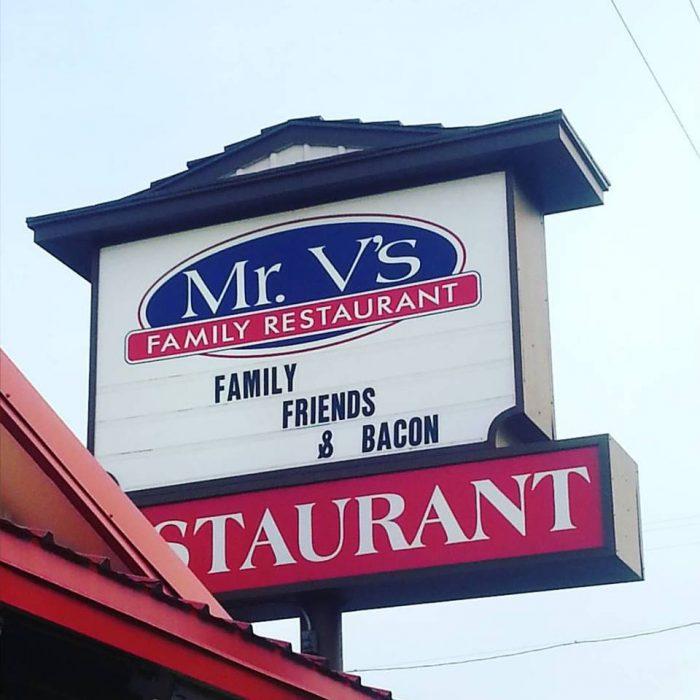 8. Mr. V's Family Restaurant, Caldwell