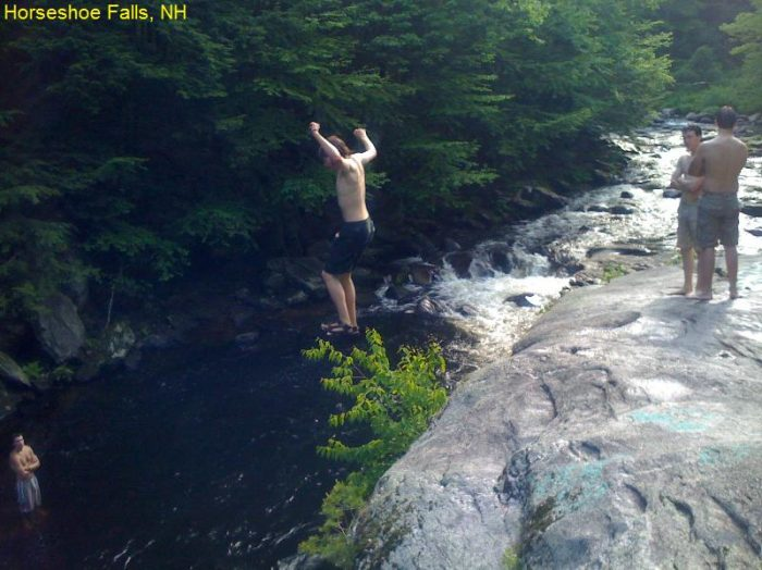 These 7 Swimming Holes In New Hampshire Are Amazing