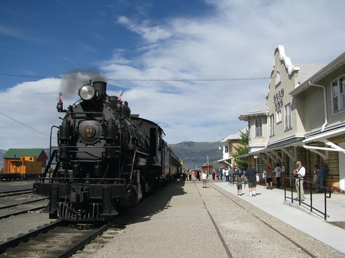 Now that you've finished your lunch, visit the Nevada Northern Railway Museum to learn all about the historic Nevada Northern Railway. Depending on when you go, you might even have a chance to ride a historic train.