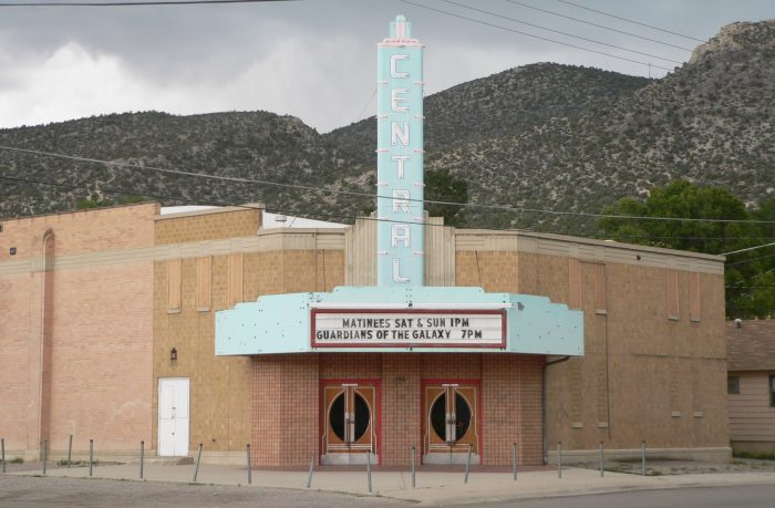 After your museum tour, take in a movie at Ely's historic Central Theater. Have some popcorn for me!