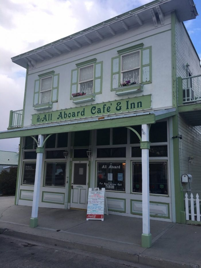 Begin your day with a delicious breakfast at All Aboard Cafe & Inn.