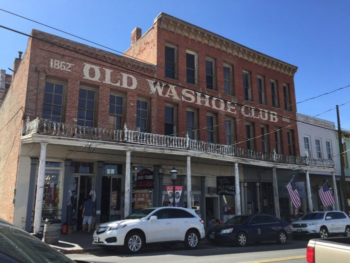 5. The Washoe Club Haunted Museum - Virginia City